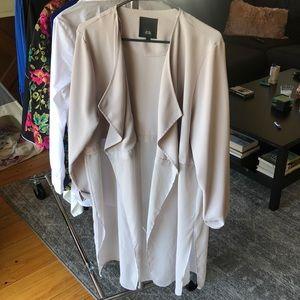 Cream/Grey River Island Jacket